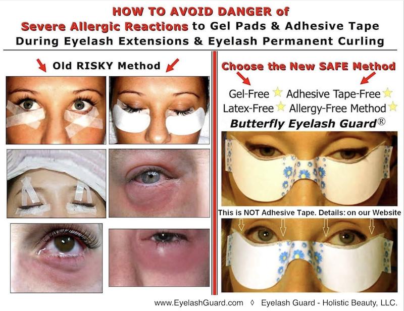 Butterfly Eyelash Guard Eyelash Extensions Perms Tinting